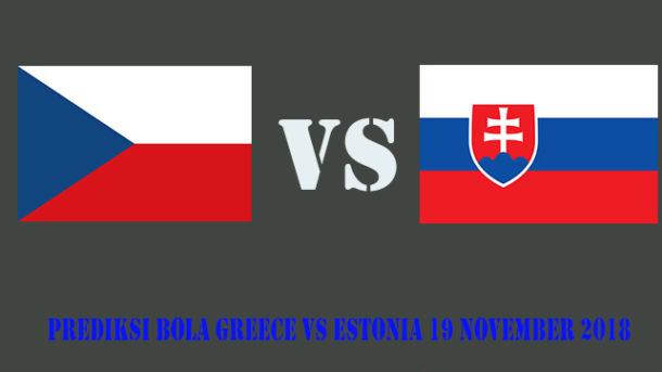 Prediksi Bola Czech Republic Vs Slovakia 20 November 2018